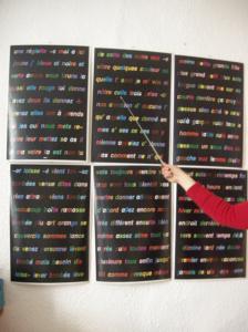 La méthode Gattegno (code-couleurs)